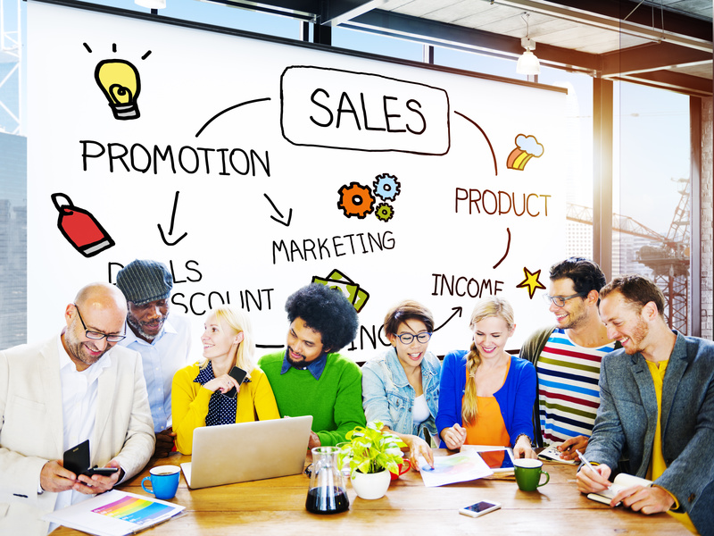 Sales Selling Discount Commerce Marketing Concept